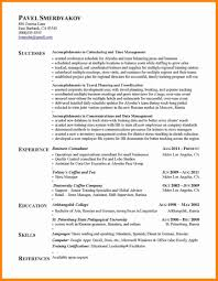 Resume Achievements Reference Achievements On Resumes Black