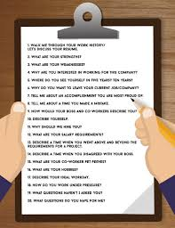 20 Common Job Interview Questions You Should Know How To Answer