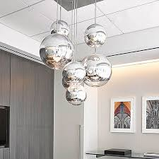 globe pendant lighting. Modern Pendant Lights Glass Globe Lamp Chrome Ball Light Kitchen Fixture Avize Luminaria Design Home Lighting -in From G