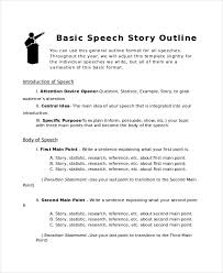 Simple Story Outline Template Story Outline Template 6 Free Word Pdf Document Download