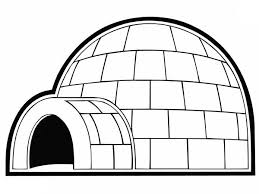 Small Picture Igloo for Eskimo People Coloring Pages Bulk Color