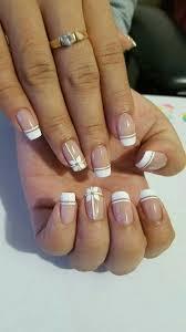 Elegant French Manicure Designs French Nails Acrylic Squoval Frenchnailselegant Nails