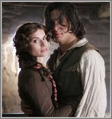 "movie review masterpiece theater s ""wuthering heights  emily s heathcliff unlike charlotte s mr rochester jane eyre is not merely a brooding r tic hero who can be turned around by a good w"