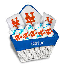 personalized new york mets large gift basket