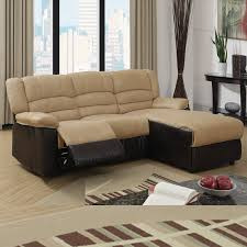 small leather chairs for small spaces. Trendy Small Sectional Sofa With Recliner 6 Leather Chairs For Spaces
