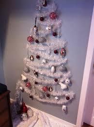 Christmas Tree Design On Wall With Lights Small Space Wall Christmas Tree Wall Christmas Tree