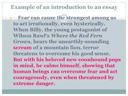 the three levels of reading ppt video online  example of an introduction to an essay