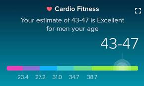 Fitbit Cardio Fitness Score Chart Fitness Diet Exercise