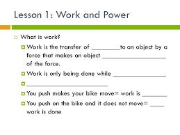 Worksheet #22323051: Work and Simple Machines Worksheet – Work And ...