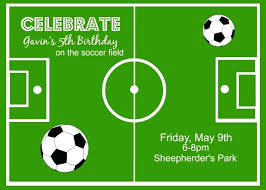 Soccer Party Invitations Soccer Themed Birthday Invitations Soccer Birthday Party Superb