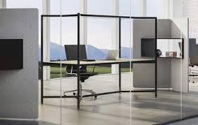 desk in office. Hub Work Table Desk In Office