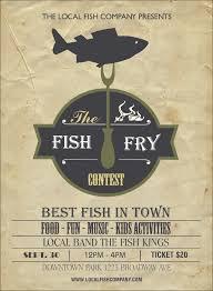 Fish Fry Invitation