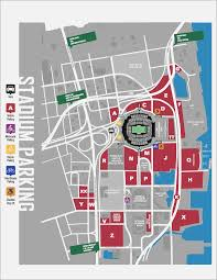 Tiaa Bank Field Parking Map Maps Template Sample 8byk65xzwn