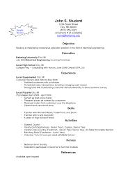 School Resume Builder Resume For Your Job Application