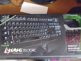 gaming games and tech review so here is the whole box of the razer lycosa mirror special edition