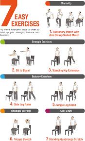 7 easy exercises