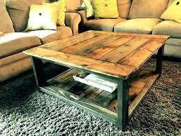 making rustic coffee table mesmerizing how