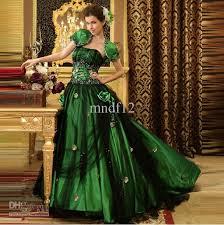 black green wedding dress flower evening dress bridesmaid dress