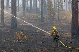 Tamarack Fire Wildfire and Smoke Map ...