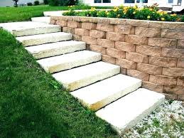 retaining home depot landscaping bricks garden wall