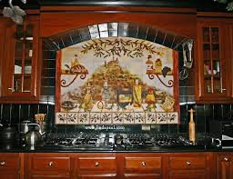 tuscan backsplash designs custom italian kitchen backsplash tuscan tile backsplash murals