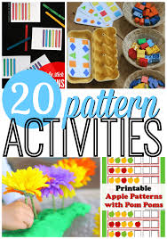 Pattern Activities For Preschoolers Simple 48 Awesome Pattern Activities For Preschoolers From ABCs To ACTs