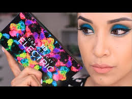 urban decay cosmetics electric pressed pigment palette. urban decay electric palette tutorial cosmetics pressed pigment e