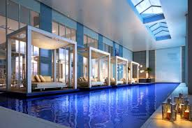 Indoor Outdoor Pool Residential Apartments Fascinating Good Residential Swimming Pool Designs
