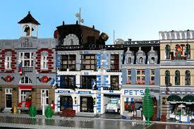 Lego Full House Lego Ideas Modular Police Station