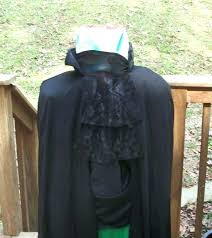 headless horseman costumes in costume with horse