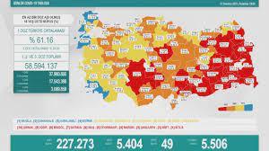 12 Temmuz Koronavirüs tablosu - Haberler Haberleri