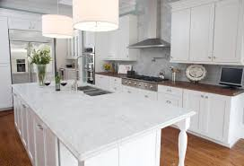 Small Picture kitchen countertops L Shape Modern White Kitchen Cabinet