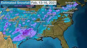 Winter Storm Uri Spread Snow, Damaging ...
