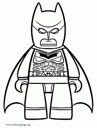 Lego Superman Coloring Pages regarding Motivate to color an image ...