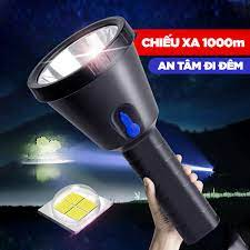 Đèn Pin Siêu Sáng XK Chiếu Xa 1000M Xé Tan Bóng Tối (leo núi, bảo trì, cắm  trại)...Khám Phá Mới
