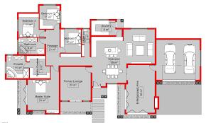4 bedroom floor plan. South African 4 Bedroom House Plans Floor Plan