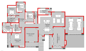 south african 4 bedroom house plans