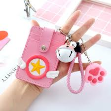 Designer Bus Pass Holder Id Card Holder Case With Keyring Bus Pass Office Badge Card