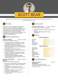 Resume Examples By Real People: Marketing Manager, Account Manager ...