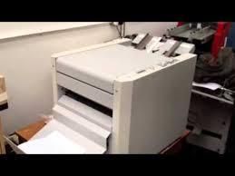 <b>Horizon SPF-7</b> Booklet Maker - YouTube
