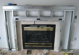 framing a fireplace metal framing fireplace framing fireplace with metal studs framing a fireplace