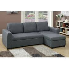 Sofa bed with chaise Convertible Quickview Wayfair Chaise Sofa With Pull Out Bed Wayfair