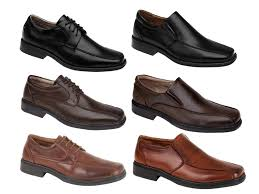 mens square toe faux leather shoes wedding work