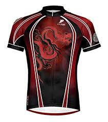 Amazon Com Primal Wear Red Dragon Cycling Jersey Mens