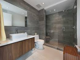 modern master bathrooms. Modern Master Bathroom With Frameless Tile Tub Shower Combo Modern Master Bathrooms