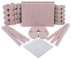 simala furniture pads 124 pack 60 felt pads beige premium heavy duty self stick