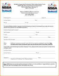 Work Authorization Form Work Authorization Form24png LetterHead Template Sample 14