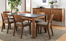 our modern handcrafted tables chairs and storage pieces are designed to beautifully mix and dining