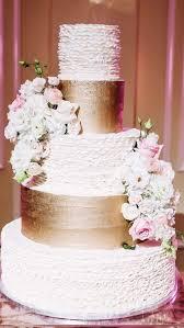 Cakes Desserts Photos 5 Tier White And Gold Wedding Cake