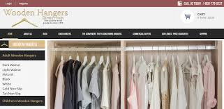 wooden hangers direct